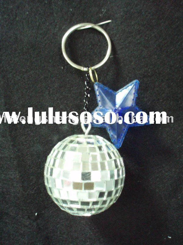 Mini Mirror Ball with Keychain