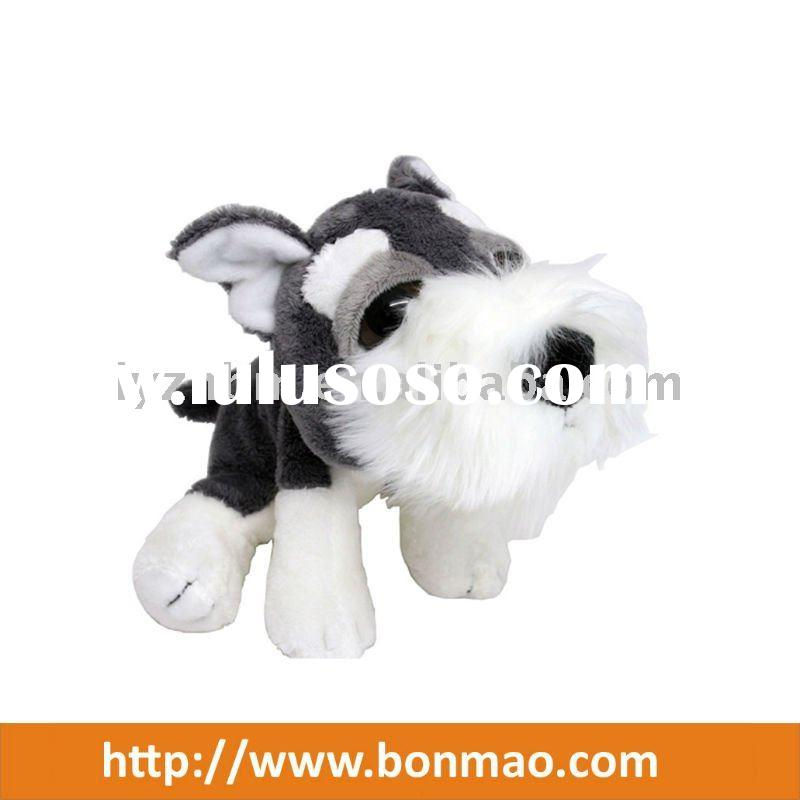 New Plush Cute Dog With Big Eyes Realistic Stuffed Animals Leikfang