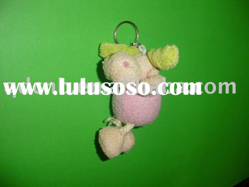 Plush Animal Keychain Stuffed Animal Soft Legs Mini Plush Animal Keyring Mini Plush Toy