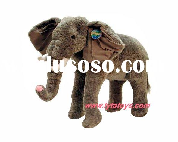 African Elephant Toys For Boys : Big plush elephant
