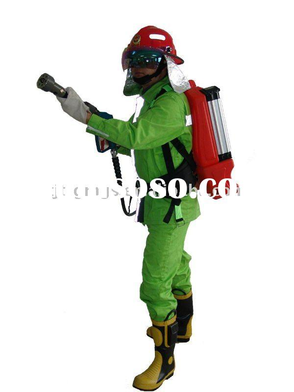 Portable backpack Water Mist Fire Fighting suit(Battery powered)