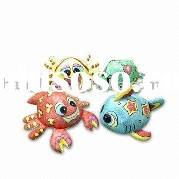 Sea species(stuffed toy,tyvek toy ,baby's toy,diy toy,educational toy,Toys for Painting)