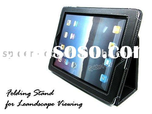 Slim Leather laptop case  for ipad 2