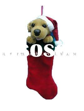 Plush Christmas Stocking Plush Christmas Stocking Manufacturers In