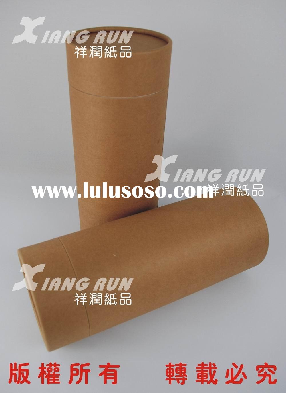brown paper can, paper tube, paper cylinder, kraft paper packing