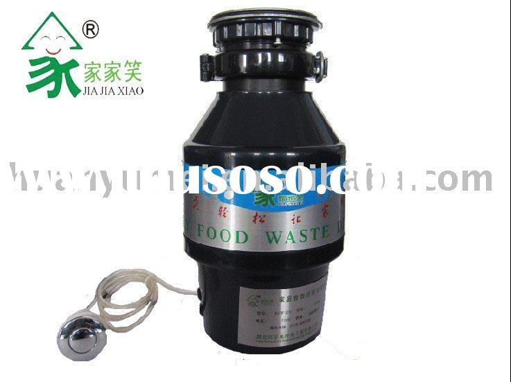 disposer with electric can crusher