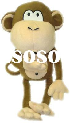 plush monkey baby toy stuffed animal
