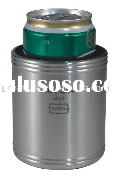 Stainless Steel Can Cooler ~ Stainless steel can cooler