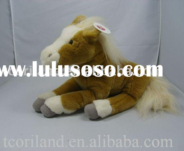 stuffed plush horse toy