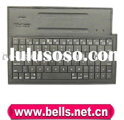 10.1' Bluetooth keyboard for Samsung Galaxy Tab with leather case