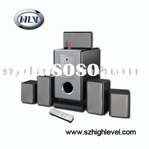 5.1CH home theatre speaker with remote control