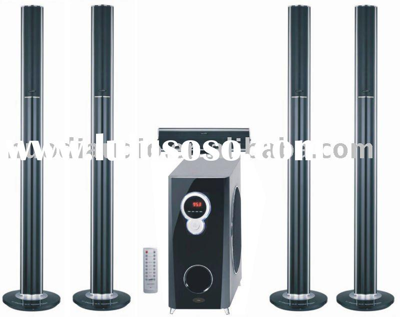 5.1 ch home theater speaker system, professional audio equipment, 5.1 home cinema speaker box