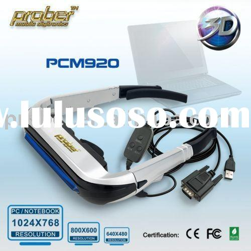 AMAZING! 80inch 3d video glasses dvd player 1024x768 800x600 80inch PC Monitor Eyewear, Best PC Gami