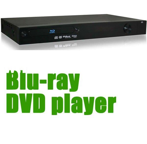Blu-ray Disc with 3D DVD player