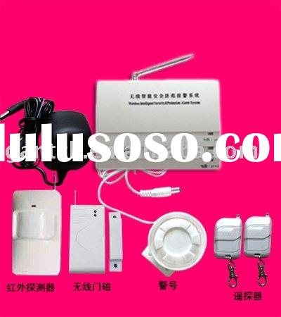 CE certification Wireless Home Alarm System with door contact, siren(big order, free frieght)