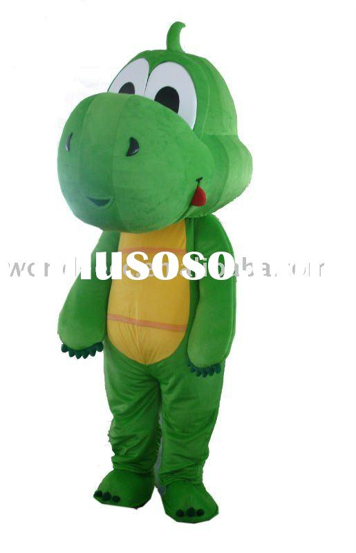 Cartoon dinosaur costume,animal mascot costume, fur costume