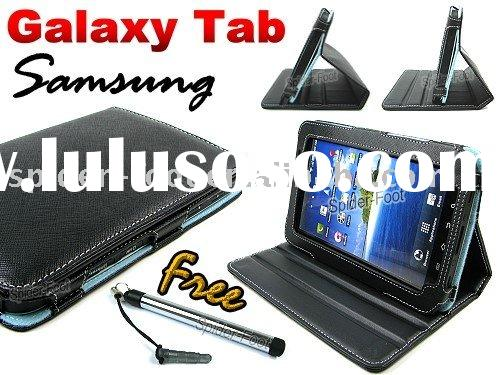 Convertible Leather pouch for Samsung Galaxy Tab P1000