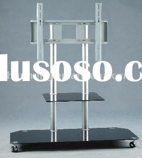 Glass TV Cart&LCD TV Cart&Glass TV Trolley&Glass TV Carriage