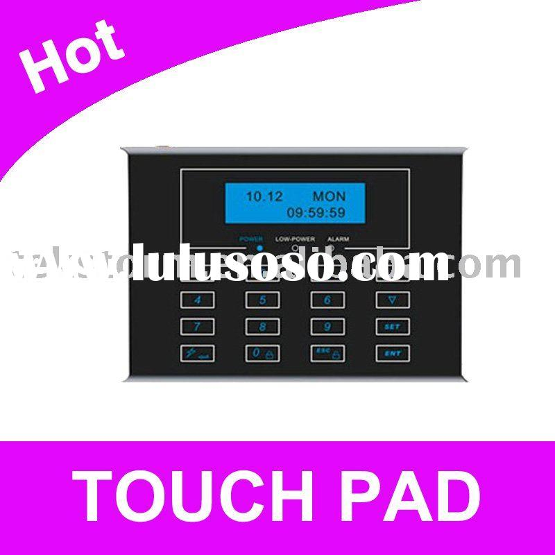Home Alarm System with Touch Keypad