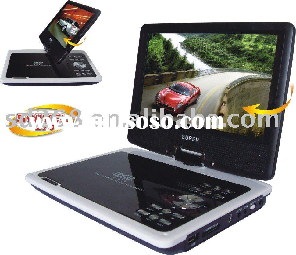 Portable DVD player+Game+Mp3+Mp4+TV+AV+Usb+Battery