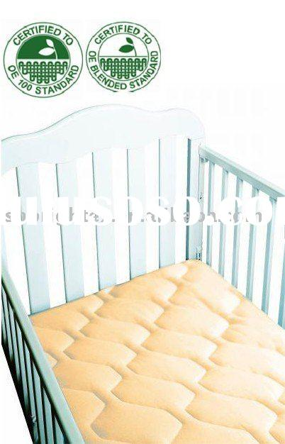 Quilted Organic Cotton Waterproof Crib Mattress Protector