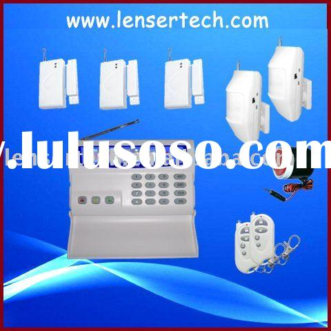 Security GSM alarm system,support at home/stay/outside alarm control(LS-GSM-002)