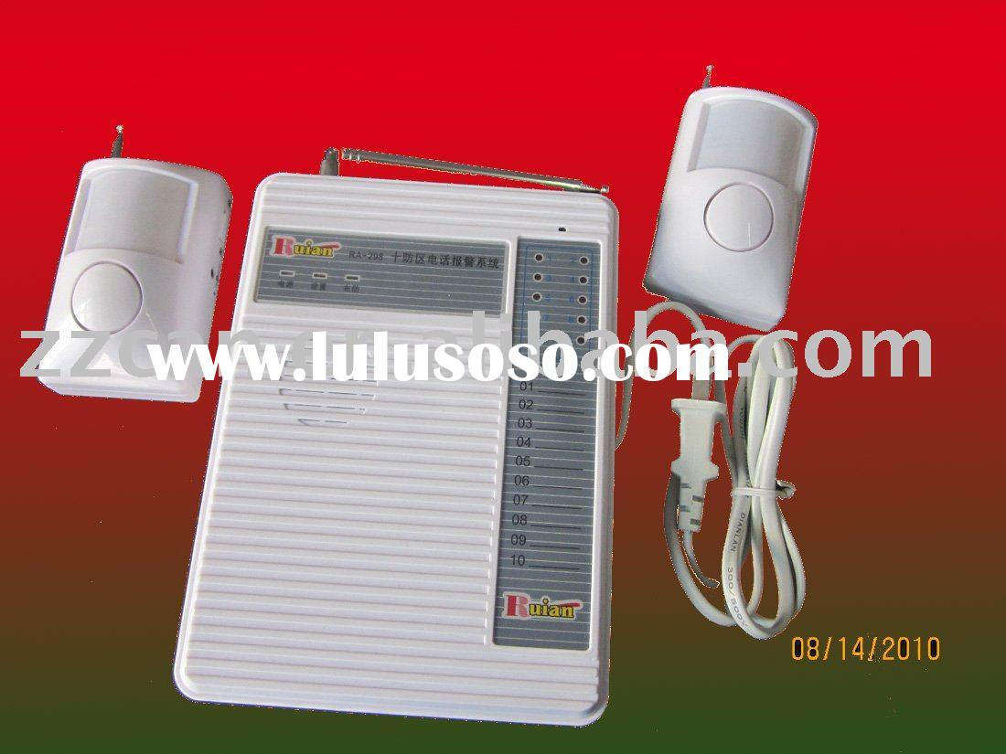 Self Monitoring Wireless Alarm System For Home Security