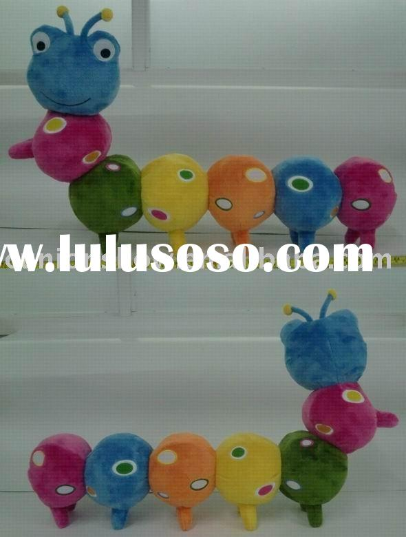 Sell plush toy-stuffed toy (stuffed caterpillar, plush caterpillar)