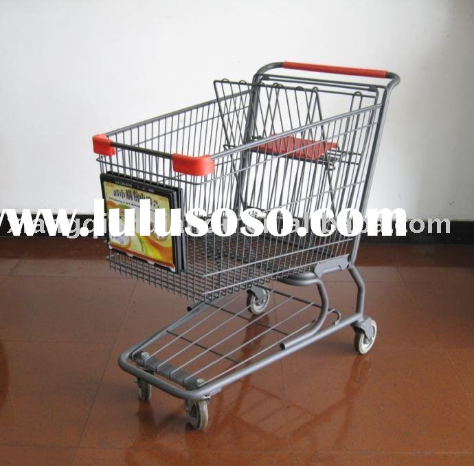 Shopping cart advertising sign holder,sign frame,sign board,sign stand,display board