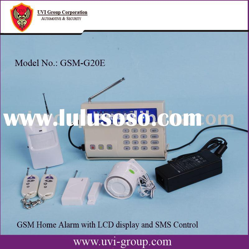Wireless GSM home alarm system/home security alarm system