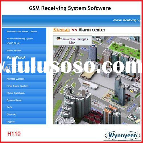 Wynnyeen H110 SMS Alarm Software System, GSM Alarm Management Software, Alarm Receiving Software