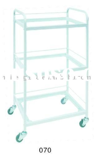 beauty equipment salon plastic trolley tool cart 070