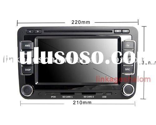 car audio with GPS, bluetooth,touch screen (LS-7501)