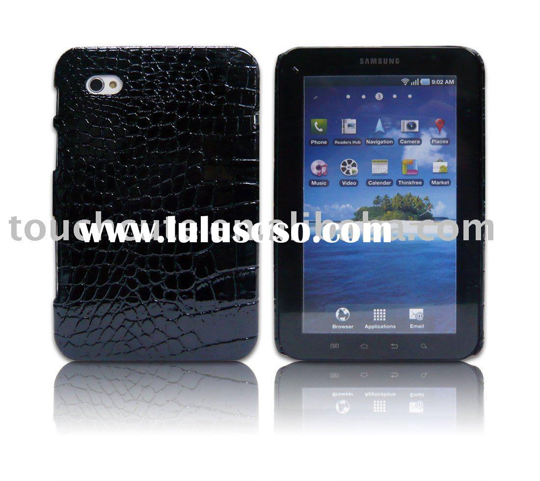 for Samsung Galaxy Tab P1000 case in snake leather hot sale
