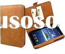 for Samsung Galaxy Tab P1000 cover in book wallet leather style