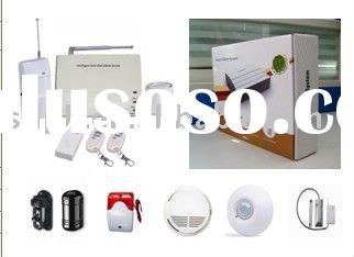 gsm home alarm system with  automatically stores system status