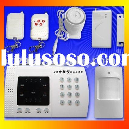 home security alarm anti-robber &intrusion &theft alarm  System with LCD display auto-dail u