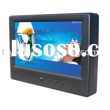 lcd advertising player, LCD ad player, car LCD player