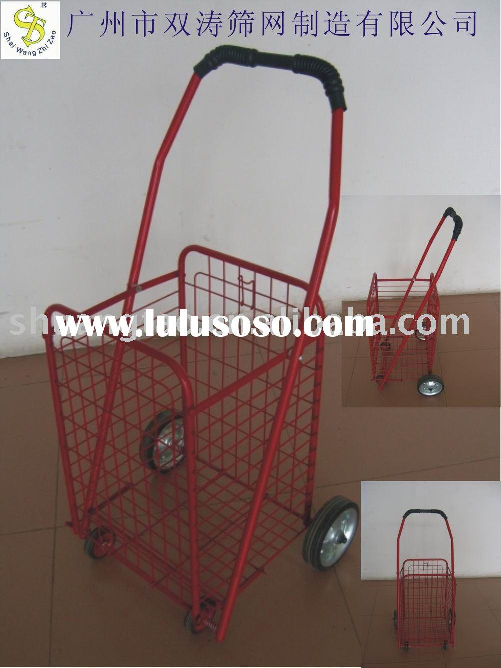portable shopping cart folding shopping cart supermarket shopping cart