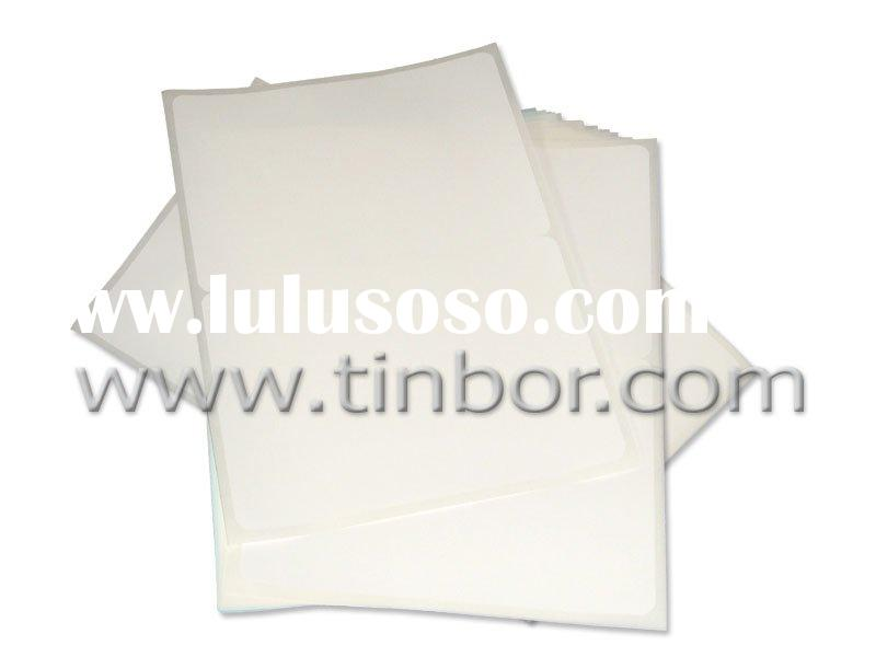 private label, self adhesive label, Blank Shipping Labels