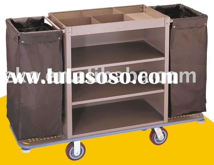 Hotel service room trolley hotel service room trolley for Hotel room service cart