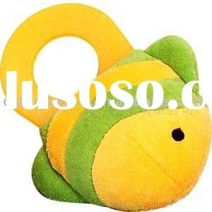 stuffed baby toy /plush baby toy /baby toy /baby ring toy /fish toy