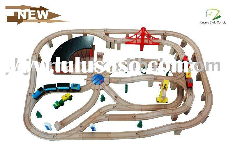 130pc Train Set, Wooden Toy Train Set, Wooden Toy, Wooden Railway Set