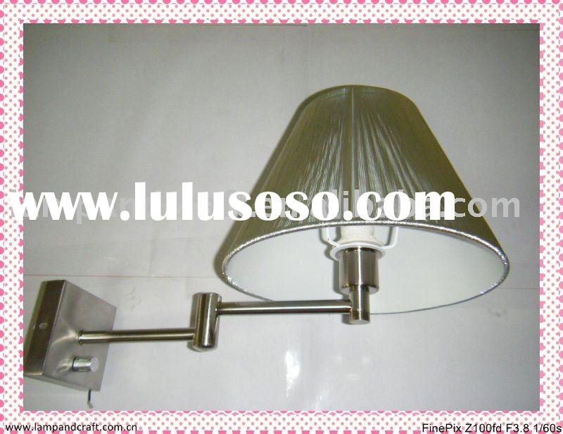2011 Hotel Swing Arm Wall Lamp or Hotel Wall Light  MOQ20pcs
