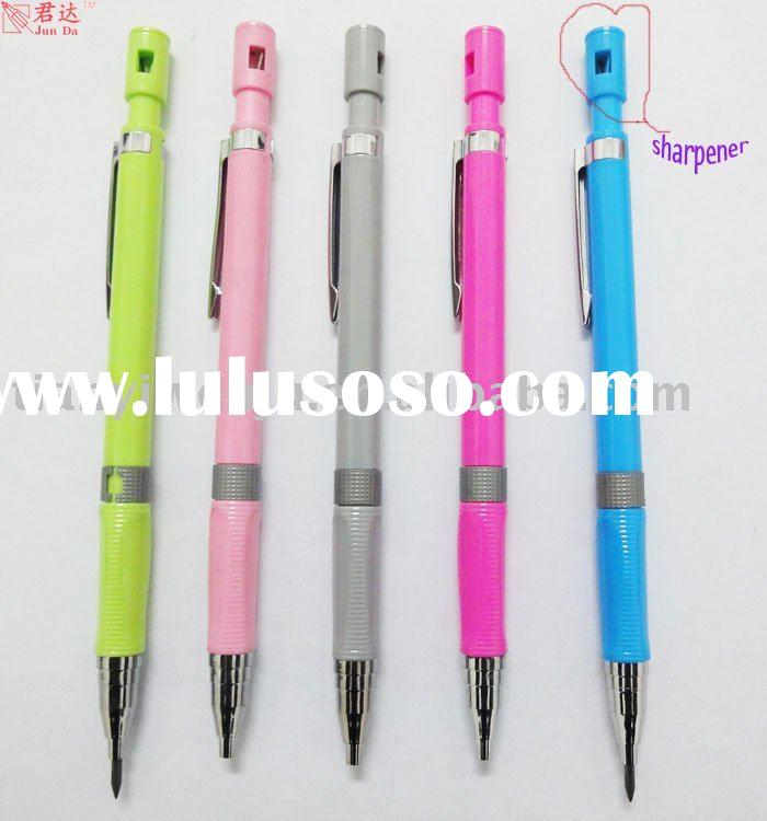 2mm free samples mechanical pencil with sharpener