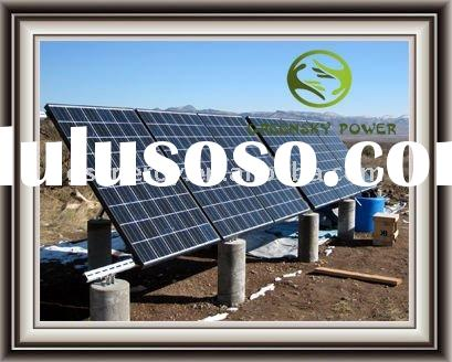 600W solar home system,portable solar system, CE ROHS powerful solar system