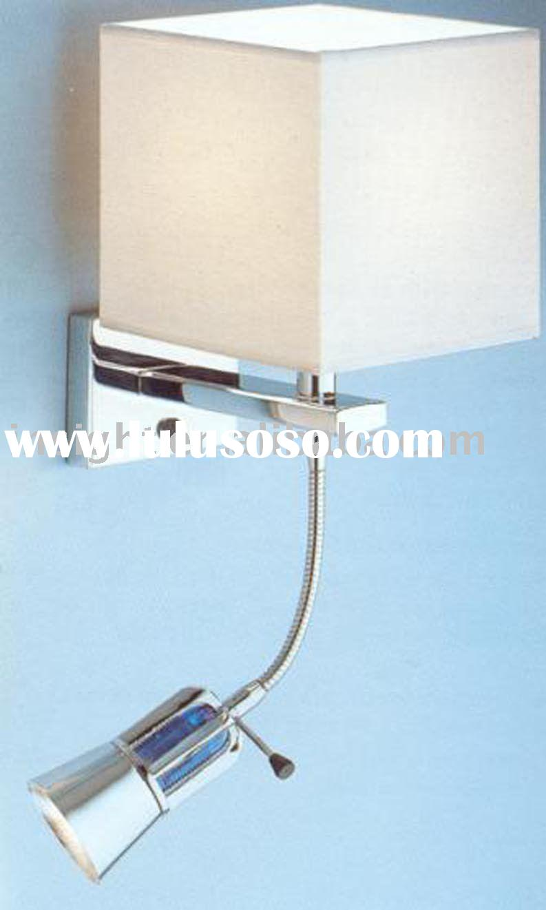 Bedside LED wall&reading lamp for hotel
