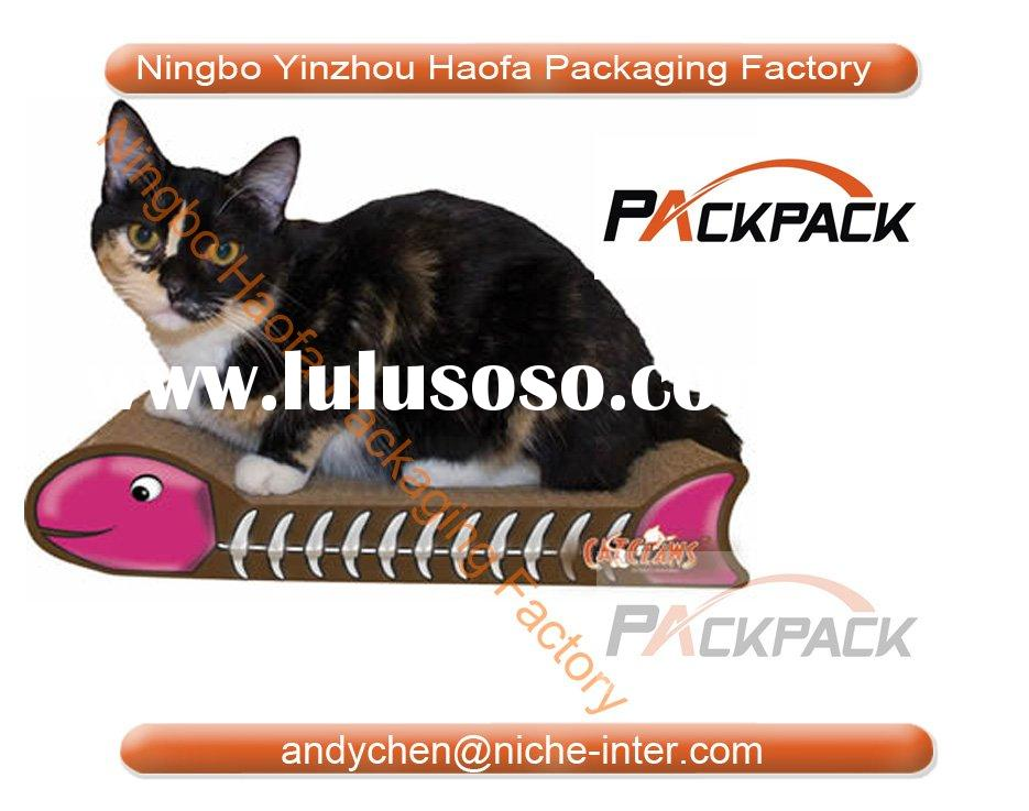 Cat Scratching Ramp , cat scratcher,corrugated pet lounger,corrugated cat toy