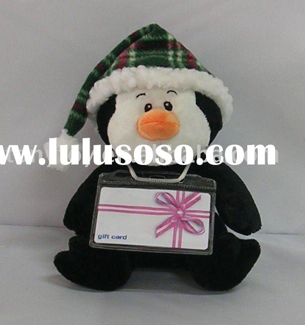 Chrismas plush penguin,winter stuffed penguin ,soft penguin , toy penguin ,plush toy,stuffed toy