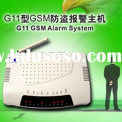 Home burglar alarm system for intelligent house